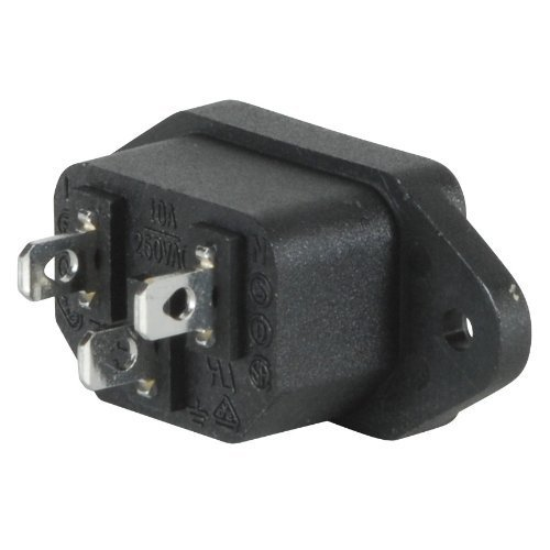 Jack Chassis - Parts Express IEC Power Jack Chassis Mount