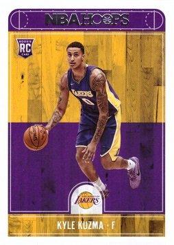 pretty nice 57c64 7b828 2017-18 Panini Hoops #277 Kyle Kuzma Los Angeles Lakers Rookie Basketball  Card
