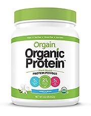 Orgain Organic Plant Protein Powder Vanilla 1.02lbs