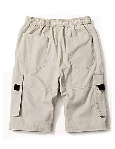 APTRO Herren Shorts Arbeitsshorts Baumwolle Cargo Shorts Outdoor Sommer Freizeit Kurze Hose
