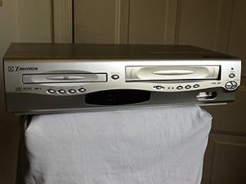 Emerson ewd2203 reproductor de DVD/grabador de cinta de casete de vídeo VCR Combo,