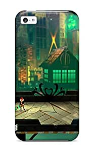 New Premium Flip Case Cover Transistor Game Anime City Skin Case For Ipad Air