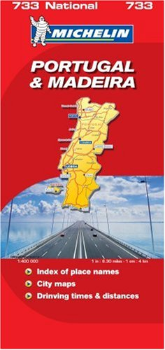 Portugal and Madeira (Michelin National Maps)