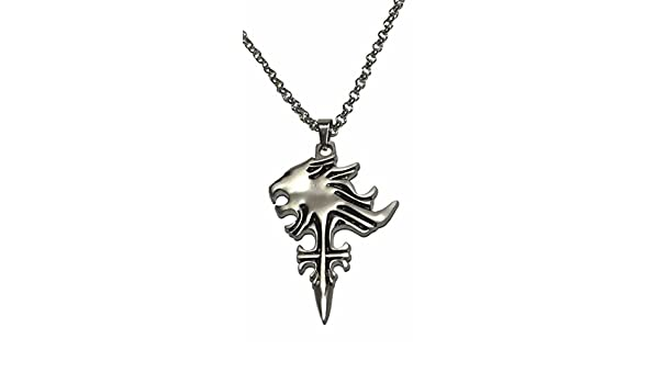 Amazon final fantasy squall griever logo pendant necklace toys amazon final fantasy squall griever logo pendant necklace toys games aloadofball Image collections