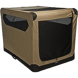 """AmazonBasics Folding Soft Dog Crate, 42"""""""