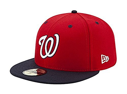 New Era 59FIFTY Washington Nationals MLB 2017 Authentic Collection On-Field Alternate2 Fitted Hat Size 7 5/8