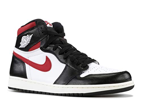 Nike Air Jordan 1 Retro High OG Black/Gym Red 555088 061 (8.5) (Nike Air Jordan 1 Retro High Og)