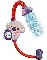 Baby Bath Shower Head Elephant Water Pump Bathtub Toy Fun Electric Elephant Bath Toy Children Bathing Time Game Toy for Newborn Babies Shower Gift