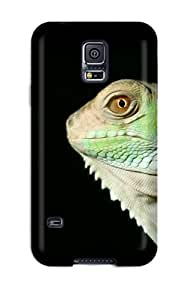 Hot Design Premium TUdTfMA1416sBHwr Tpu Case Cover Galaxy S5 Protection Case(iguana)