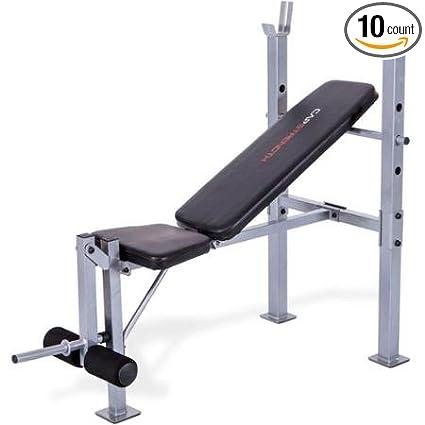 Amazon Com Cap Strength Standard Weight Bench Press With Leg