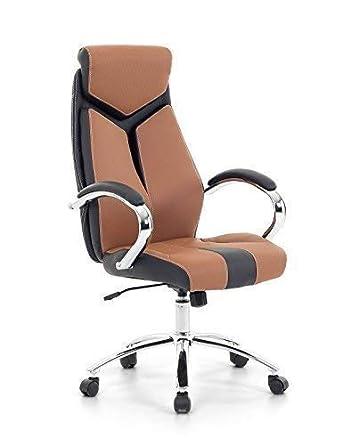 Designer Racing Leder Chefsessel Bürosessel Bürostuhl Drehstuhl