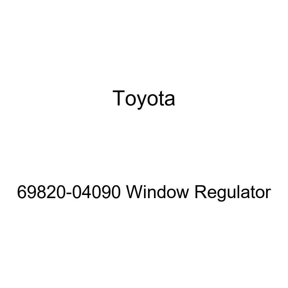 Toyota 69820-04090 Window Regulator