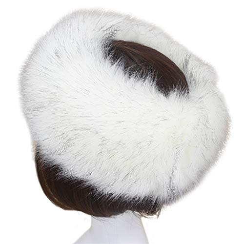 Bigorge Cossack Russian Style Warm Cap Faux Fur Hat for Winter Stretch]()