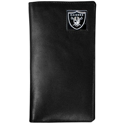 NFL Oakland Raiders Tall Leather Wallet