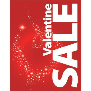 Amazon Com Valentine S Day Sale Signs 11x 14 L X H Industrial
