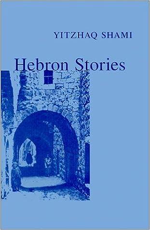 Book Hebron Stories