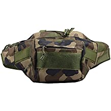 MONOJOY Tactical Fanny Pack Hip Pack Waterproof Tactical Military Waist Belt Bag Hiking Waist Pack Military Army Pouches Belt Packs For Men Women, Daily Life Cycling Camping Hiking Hunting Fishing