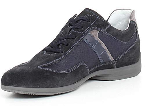 Sneakers Blu Scarpe Nerogiardini 200 Blu Scamosciato 900781 P900781 rrOqwxR
