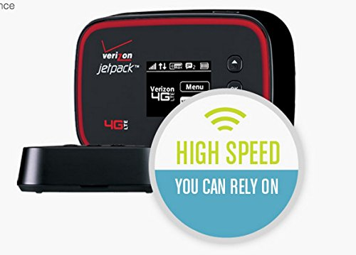 Verizon Unlimited 4G Data + LTE Mobile Hotspot MHS291L 3G, 4G LTE & 4G XLTE (Black)