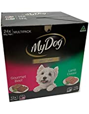 My Dog Multi Pack 24 100g Trays Wet Dog Food Gourmet Beef Lamb Classic Bulk Value Pack