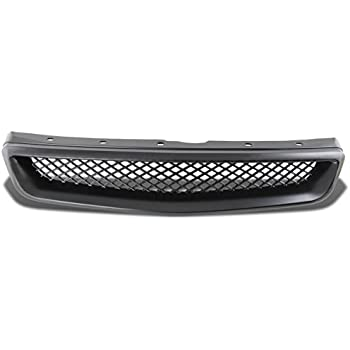 Black DNA MOTORING GRF-056-BK Front Bumper Grille Guard