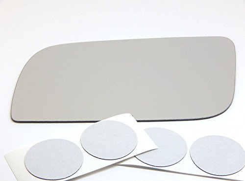 Astro Van Mirror - 90-05 GMC Safari, Chevy Astro Van Flat, Driver Side Replacement Mirror Glass, USA