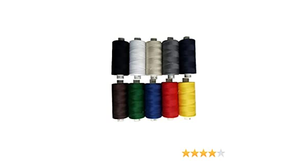 Colores Primarios /10/x 1000Y/ /M/áquina de Coser Hilo /Color Mix Colores Primarios/ /Universal Hilo/ /Grosor 120/ Coats/
