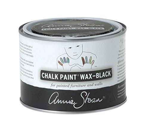 Black Chalk (CHALK PAINT (R) Wax - Black (500mL) - Annie Sloan - Colored Wax)