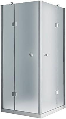 Ducha cabina de ducha de cristal Bilbao de Jet de Line, escarchado ...