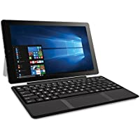 RCA Cambio 10 2-in-1 Notebook Tablet with 32GB Storage, Intel Atom Z8350 Processor, 2GB RAM, Windows 10, Includes Keyboard