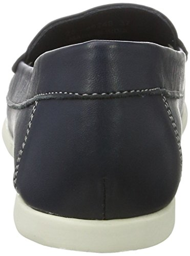 Mujer Tassel navy Bianco Blue Azul Mocasines Jfm17 Sailor Loafer Para TUHW6U