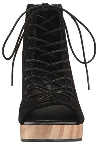 Black Main Gladiator Sandal Brooklyn Women Dagger Kelsi 8gtxY7