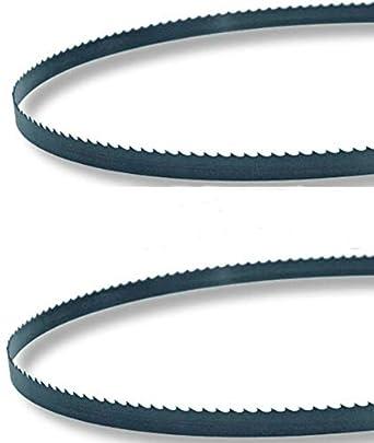 108 x 5/8 x 3TPI – Paquete de 2 hojas de sierra de cinta – Corte de carne para Biro 1433