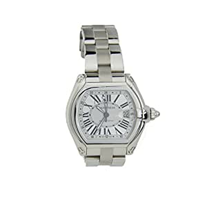 Cartier Roadster Automatic automatic-self-wind mens Watch W62025V3 (Certified Pre-owned)
