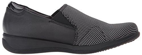 Softwalk Dames Tilton Slip-on Loafer Zwart / Wit