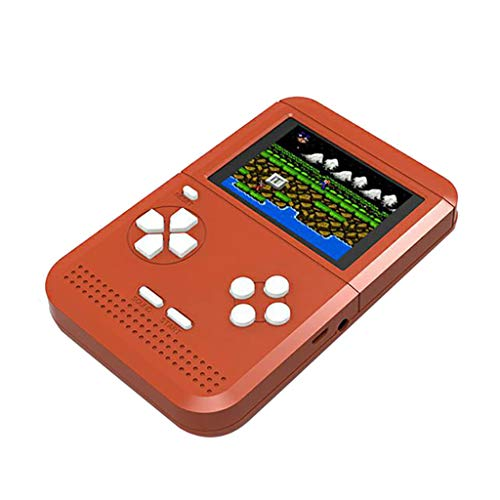 Ourhomer  Clearance Sale Handheld Game Console Retro Mini Handheld Video Game Console Gameboy Built-in 300 Classic Games (Red)