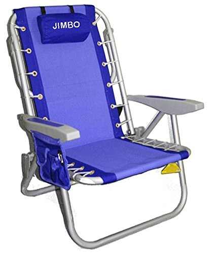 PERSONALIZED IMPRINTED Rio Deluxe Aluminum Lay-Flat Backpack Chair w/Cooler