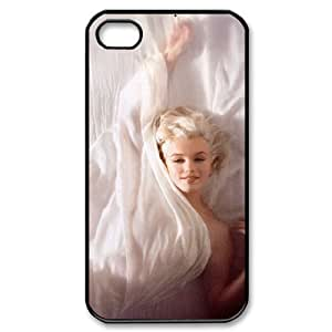 HOPPYS Customized Print Marilyn Monroe Pattern Back Case for iPhone 4/4S
