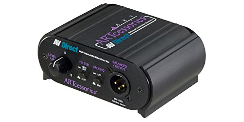 ART AVDirect 1-channel Passive, Multiple Input Direct Box by ART