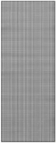 Prest-O-Fit 2-3033 Aero-Weave Breathable Outdoor Mat-7.5' x 20', Gunmetal Gray (Rug Patio Fit Prest O)
