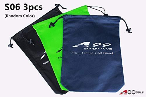 A99 Golf S06 Shoes Bag Nonwoven Fabric Tote Bag/Pouch 3pcs Random Color
