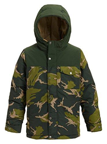 (Burton Boys Barnone Jacket, Large, MTN Camo/Resin)