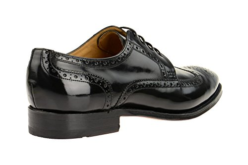Gordon & Bros5093-a Black - Stringata classica Uomo Nero
