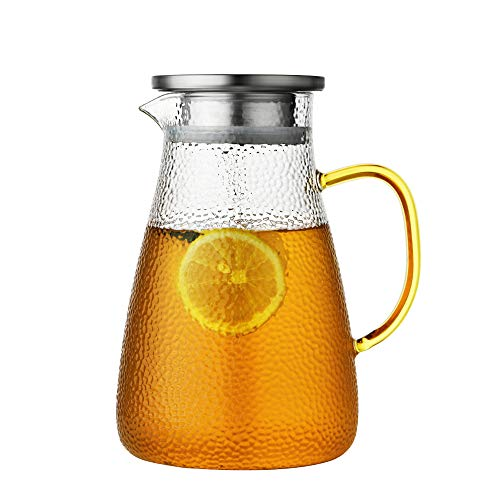 pitcher with spout infuser - 7