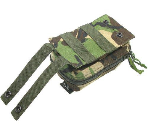 BE-X Abnehmbare Erste Hilfe Tasche mit Adapter für Modular System - woodland DPM