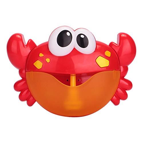 Bubble Bath Maker Machine, Alonea Bubble Machine - Blueteeth Speaker Crab Automatic Bubble Maker Blower Music Bath Tub Play Toys for Baby (AS Shown❤️)