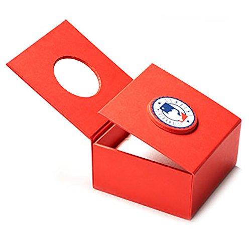 ScotchBlue Cincinnati Reds MLB Major League Cufflinks by ScotchBlue (Image #3)