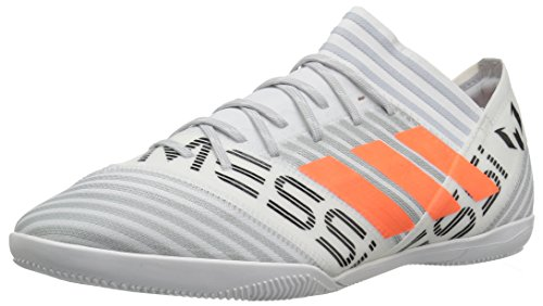 adidas Performance Men's Nemeziz Messi Tango 17.3 In Soccer Shoe, White/Solar Orange/Black, 10 Medium US (Turf Men Shoes Soccer)