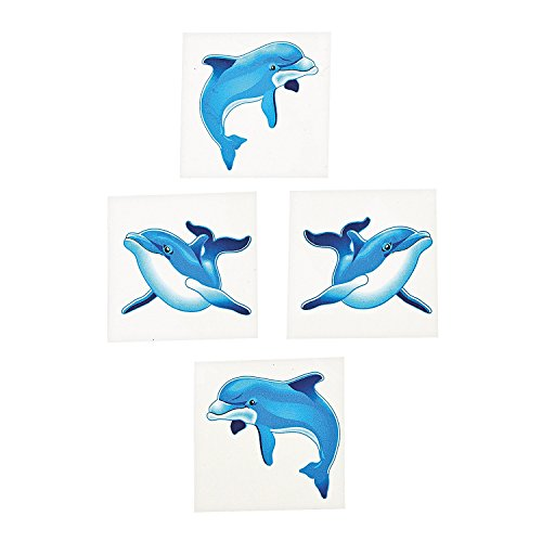Dolphin Temporary Tattoos (6 dozen per unit) ()