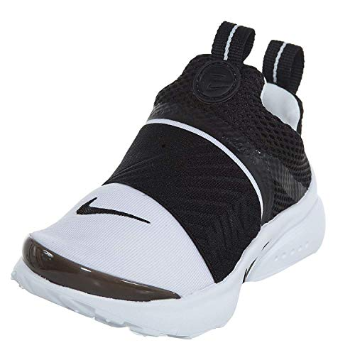 - Nike Presto Extreme Toddler's Running Shoes White/Black 870019-100 (5 M US)